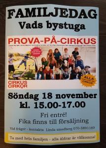 Affisch Cirkus Cirkör 20181118_20181110